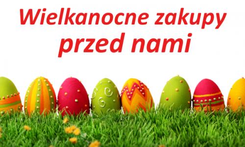Wielkanocna zakupy przed nami