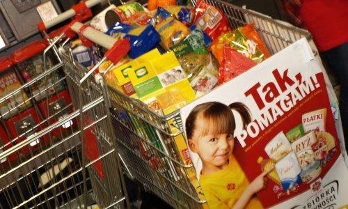 Tak, POMAGAM! Zbiórka żywności Caritas w sklepie Kaufland