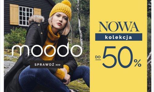 Do -50% na Nowa Kolekcję w Moodo