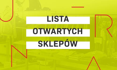 Lista sklepów otwartych od 28.12